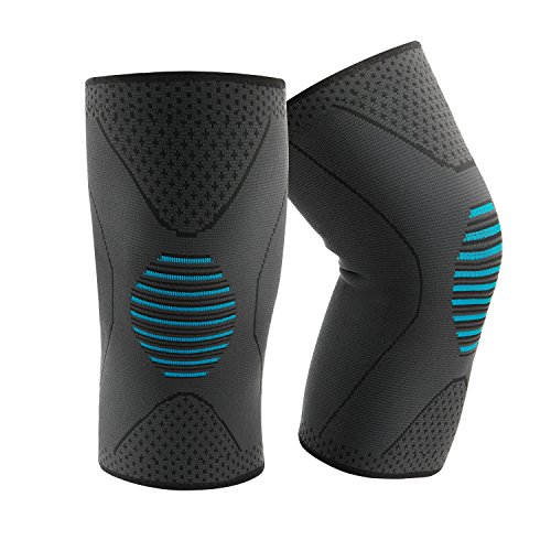 Compression Knee Sleeves Flexible Knee Brace for Man and Women (L-2 Sleeve)