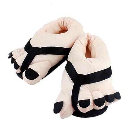 Babati - Zapatillas de Peluche cálidas y Suaves para Interior y Exterior, Unisex, Color