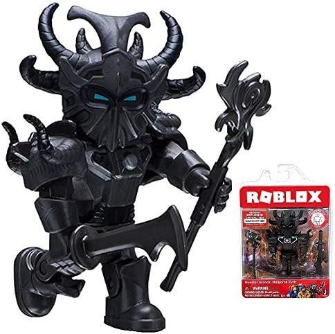 Amazon Com Roblox Monster Islands Malgorok Zyth Single Figure