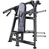 SportsArt Fitness A987 Plate Loaded Shoulder Press for Club Use - Commercial Military Press Machine with Independent Press Arms