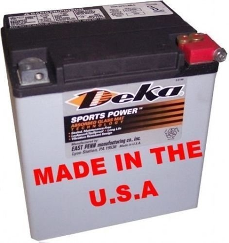 Deka AGM Battery ETX-30L Fits Select Harley Davidson Motorcycles ... ()