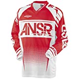 Answer Racing A17.5 Syncron Air Men's Off-Road Motorcycle Jerseys - Red/White / X-Large