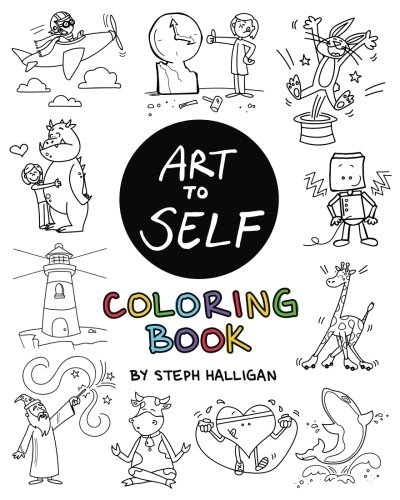 The Art to Self Coloring Book