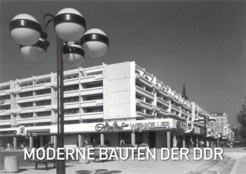 Moderne Bauten der DDR 2012