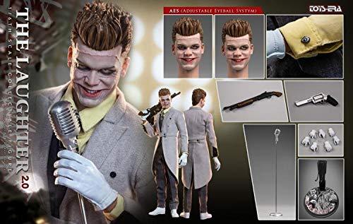 TOYS ERA 1/6 The Laughter 2.0 The Joker Jerome Action Figure(Adjustable Eyeball System) ()