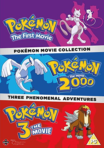 Pokemon Movie 1-3 Collection (Pokemon 3 Movie)