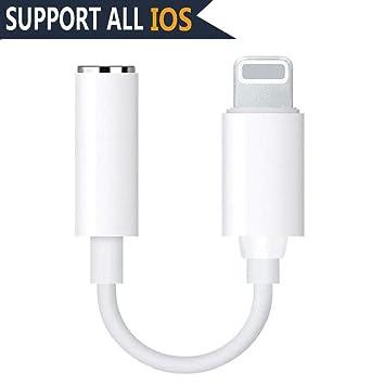41eb779c1ed Adaptador de iPhone Adaptador Jack de 3,5 mm Conector de Auriculares  Convertidor Accesorios para