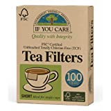 If You Care Fsc Certified Unbleached Tea Filters 100 Count, 3-Pack (300 Filters in Total)