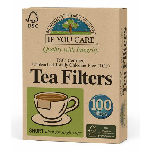 If You Care Fsc Certified Unbleached Tea Filters 100 Count, 1-Pack (100 Filters in Total) ()
