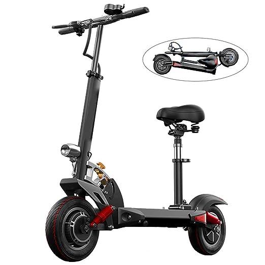 Scooter electrico Adulto,Plegable 10 Pulgadas 600W Carga ...