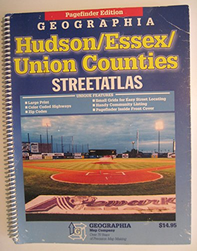 Streetatlas Hudson/Essex/Union Counties