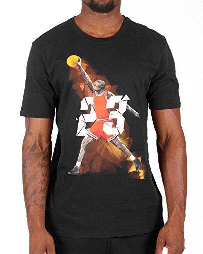 Jordan Mens IX West Madison St. T-Shirt XX-Large White/Black by Jordan