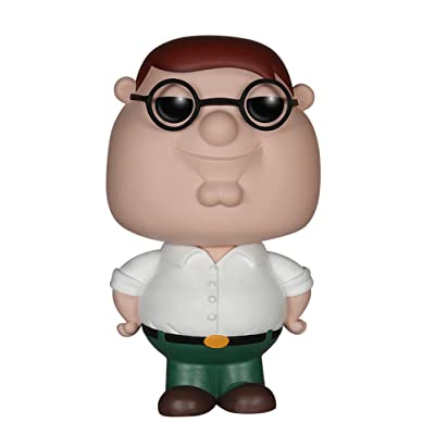 Funko POP TV: Family Guy Peter Action Figure: Funko Pop! Television:: Toys & Games