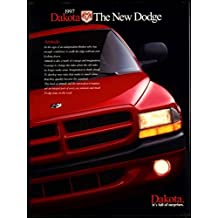 1997 Dodge Dakota Pick-Up Truck sales brochure