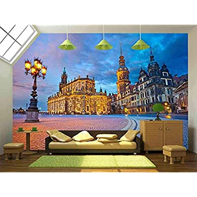 Wonderful Creative Design, That's 100% USA Made, Dresden Image of Dresden Germany During Twilight Blue Hour