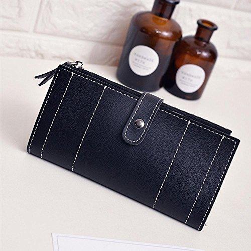 Embrayages Main Qualité Noir Fashion Esailq Sac Femmes Quotidien Usage Bourse D'embrayage À Wallet qxtURY
