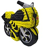 Aztec Imports, Inc. Yellow Motorcycle Pinata