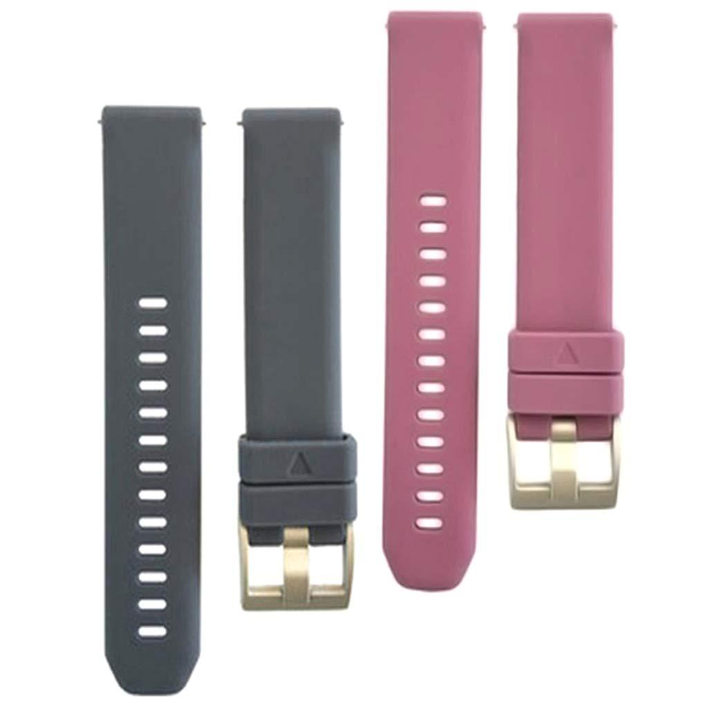 F Fityle 2X Correas Reemplazo de Smartwatch de 20mm con ...