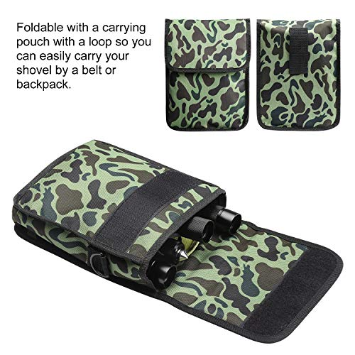 ENKEEO Military Folding Shovel Multitool for Scout, Hiking, Backpacking, Adventure Cycling, Dry Camping, Trenching, Emergency and Survival by ENKEEO (Image #6)