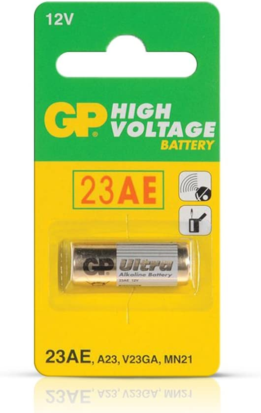GP 23AE 21/23 A23 23GA MN21 12V batteries EXP. 2020 (25 Pack)