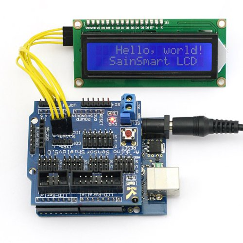 SainSmart LCD1602 Display Mega2560 Duemilanove