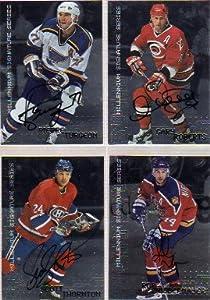 1999-00 BAP Millennium Autographs #107 Rob Niedermayer Autograph Card