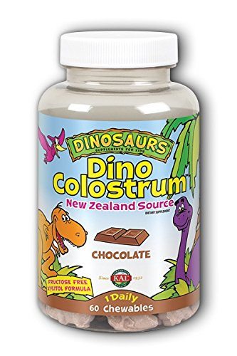 Price comparison product image KAL Dino Colostrum Chocolate Chewables,  300 mg