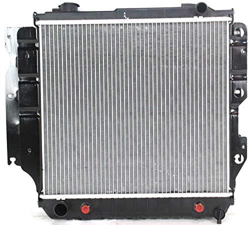 Radiator Compatible with JEEP WRANGLER 1987-2004 (1994 Jeep Wrangler Radiator)