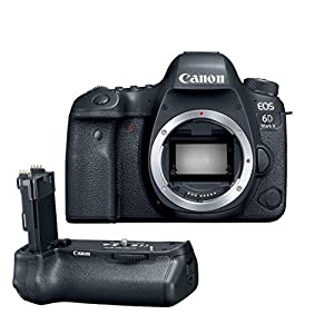 Canon EOS 6D Mark II DSLR Body - With Canon BG-E21 Battery Grip