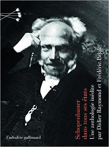 Livre Schopenhauer dans tous ses états epub pdf