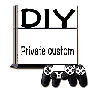 Arts902 Private custom PS4 exclusive design stickers make your favorite patterns for your own PS4 host protective accessories of PS4 host stickers by Arts902