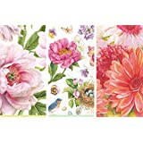 Caspari Guest Towels Collection (Blush, Spring Sketchbook and Nel's Daisies, 45 Napkins)