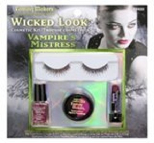 Fantasy Makers Wicked Look Cosmetic Kit for Halloween (Vampire's Mistress (Vampire Makeup Looks)