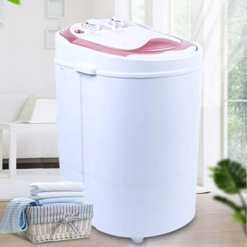 Mini lavadora,Lavadora de viaje m/óvil,Mini lavadora port/átil de 6kg,Con lavadora de deshidrataci/ón,Lavadora de carga superior,Lavadora con centrifugadora,Aproximadamente 54x35x34cm