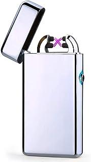 VinMas USB électrique Double Arc sans Flamme Lampe de Poche Rechargeable Coupe-Vent léger