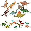 子供のための教育用プラスチック盛り合わせの恐竜のおもちゃフィギュア - 20パック、#17