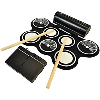 Amazon Com Kawasaki Mini Digital Electronic Drum Set
