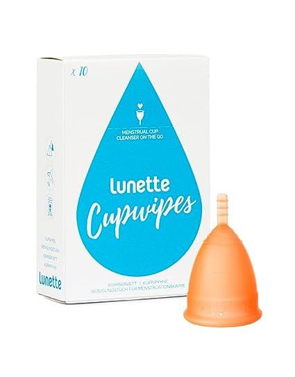 Lunette copa menstrual – Starter Kit – Copa y toallitas