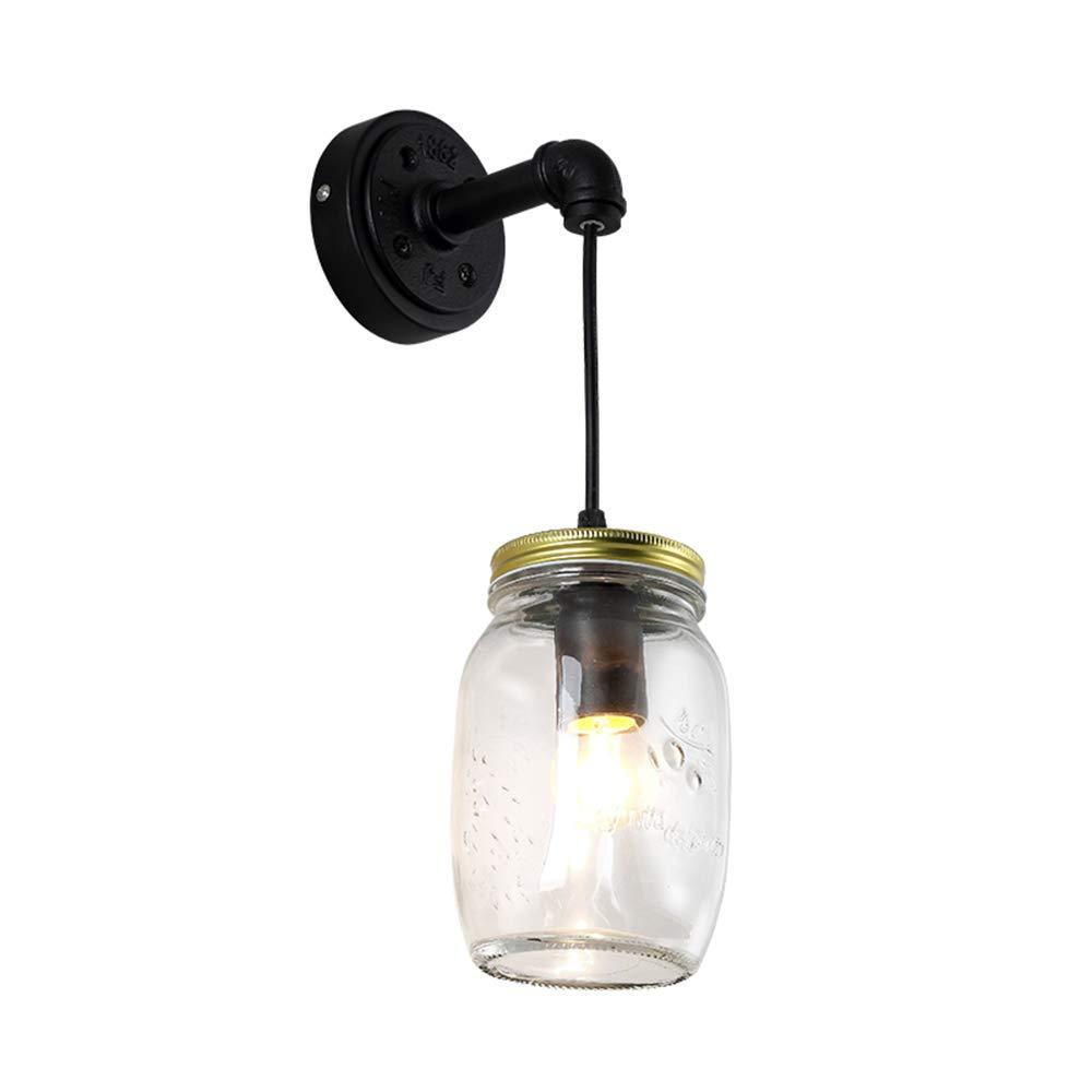Wandleuchte Einfache Glasgang Schlafzimmer Studie Nachttisch Café Bar Kreative Persönlichkeit Led Wandleuchte