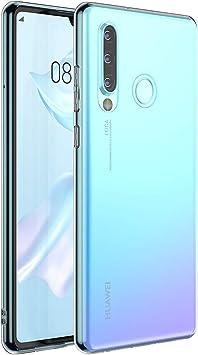 laxikoo Funda para Huawei P30 Lite, Funda Transparente Huawei P30 ...