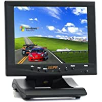 High Brightness LILLIPUT 869gl-80np/c/t-hb 8 Touch Screen LCD Monitor DVI Hdmi By Viviteq INC