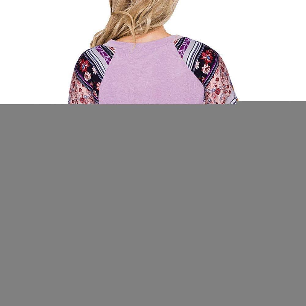 BGBG Women's T-shirt Women'S Daily Basic T-Shirt - Geometric Print Black Purple