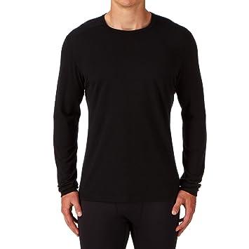 Camiseta interior Icebreaker Oasis negro para hombre Talla S 2018 Ropa interior