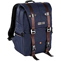 K&F Concept DSLR Camera Backpack Multifunctional Waterproof Nylon Bag for Camera, Lenses and Photography Accessories