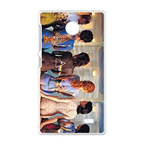 Artistic Body Fashion Comstom Plastic case cover For Nokia Lumia X