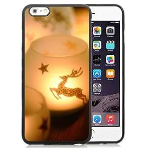 "Beautiful iPhone 6 Plus 5.5"" TPU Cover Case ,Christmas 3 Black iPhone 6 Plus 5.5"" TPU Phone Case Unique And Durable Designed Screen Case"