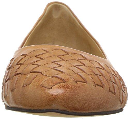 Woven Flat Tan Trotters Estee Women's Ballet WPqYY6R
