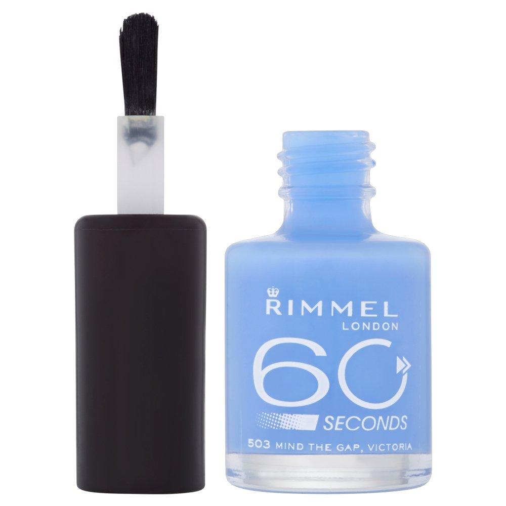 Buy Rimmel London 60 seconds Nail Polish (503 Mind The Gap, Victoria ...