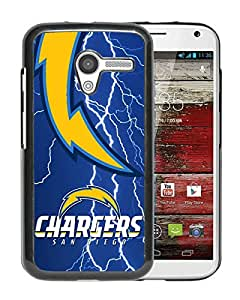 Moto X Case,San Diego Chargers 48 Black For Moto X Case