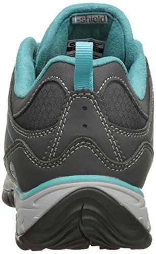 Hi-tec Womens Equilibrio Bijou Basso I Hiking Shoe Charcoal / Tile Blue